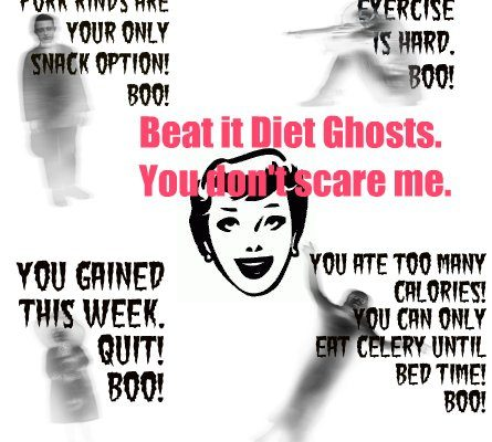 Exorcising Ghosts of Diets Past